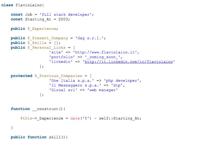 CV Code