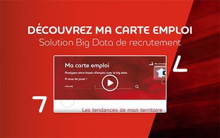 Ma carte emploi, solution Big Data pour mieux recruter