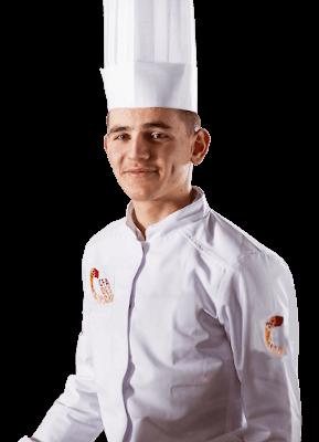 Apprenti cuisinier du CFA des Chefs