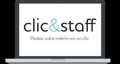 Logo Clic and Staff