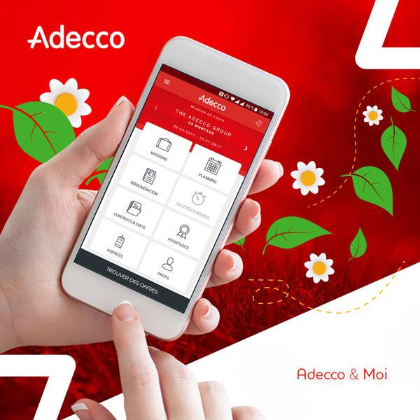 Application Adecco et Moi