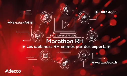Webinars du Marathon RH Adecco